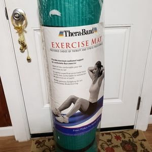 TheraBand Exercise Mat Extra Thick Yoga Mat